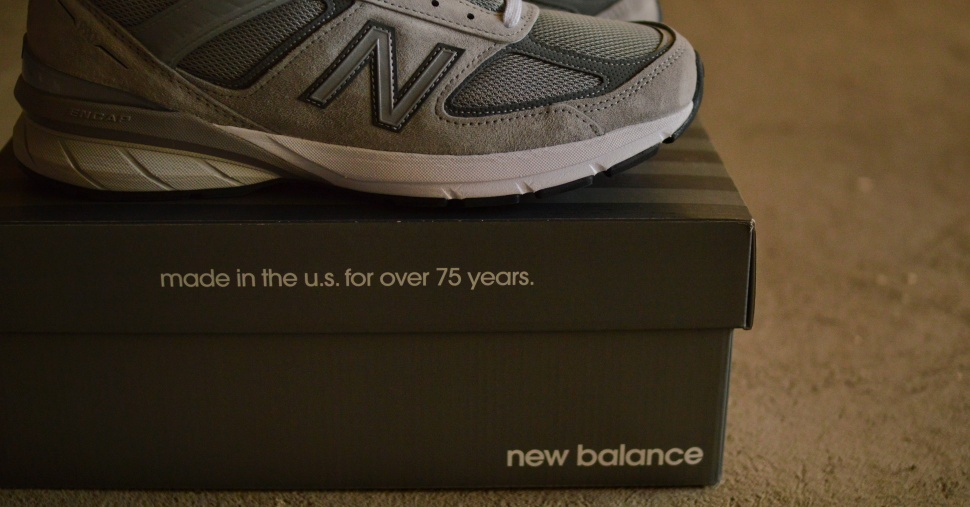 buy popular 4d8c1 26737 The Dad Shoe of All Dad Shoes – The New Balance 990 v.5 ...